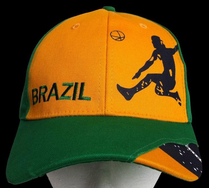 BRAZIL BRASIL WORLD CUP SOCCER PLAYER BASEBALL HAT CAP #brazil #brazilcap #brazilhat #brazilbaseballcap #brazilbaseballhat #baseballcap #baseballhat #soccerplayer #soccer