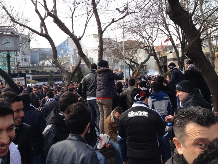 Beşiktaş fener ısınma hareketleri :)