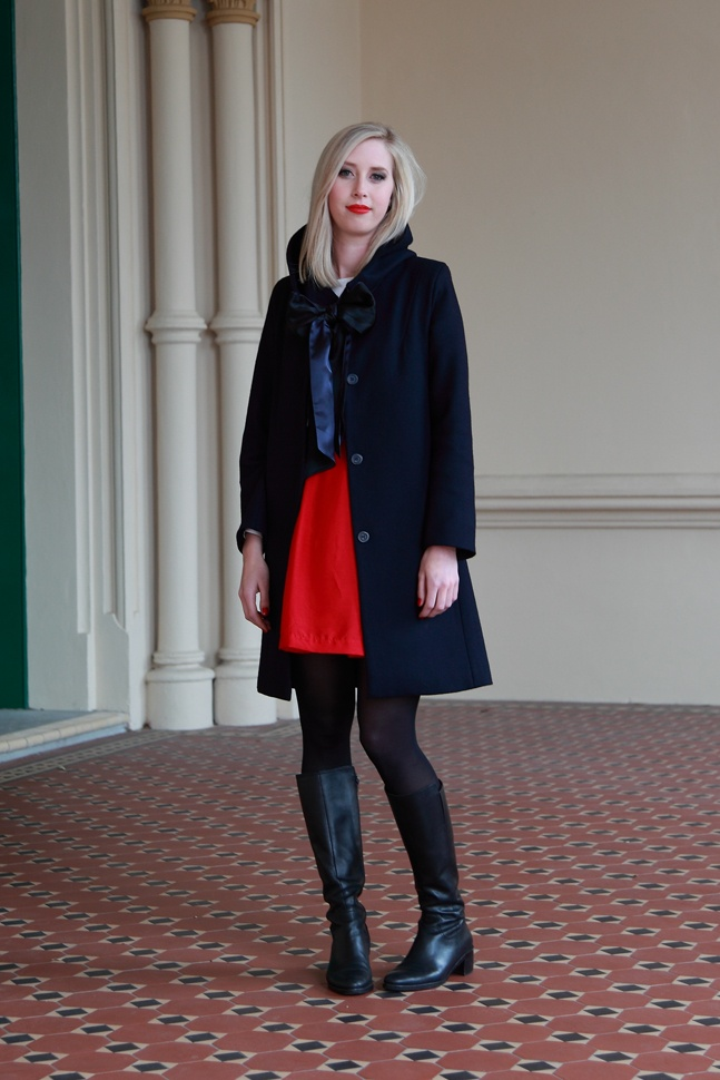 Bonnet  Berliner coat  Milano top  Amsterdam skirt