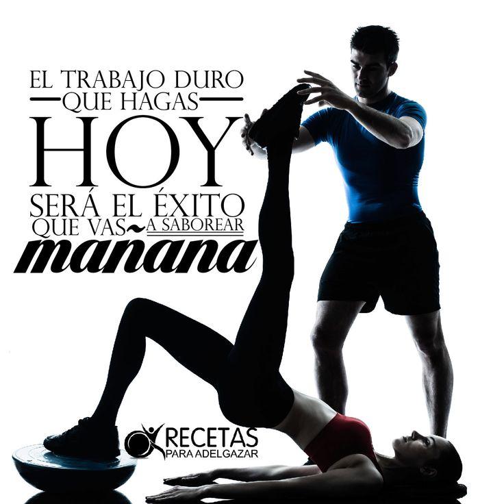trabaja duro hoy para que el éxito sea tuyo mañana #frases