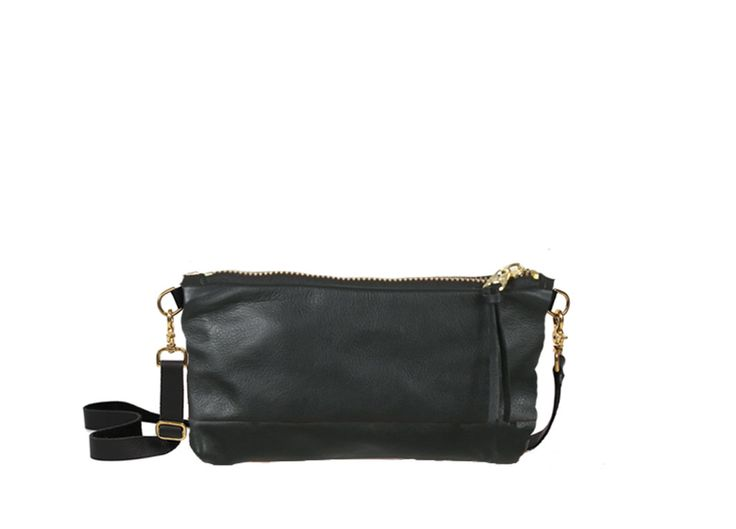 VIDA Leather Statement Clutch - Nectar by VIDA
