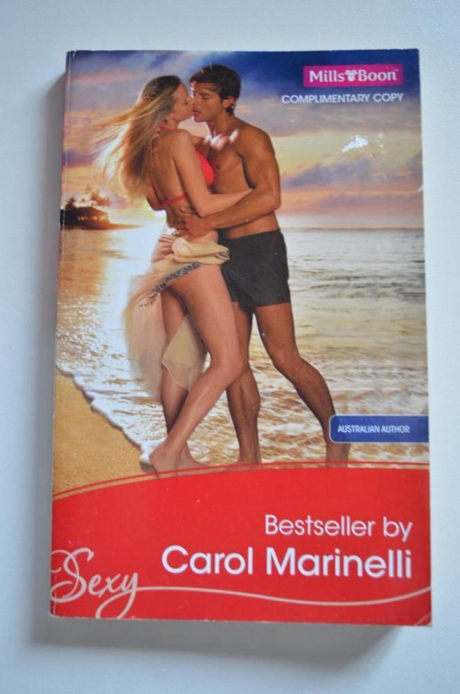 sexy , mills and boon p/back by carol marinelli 2009