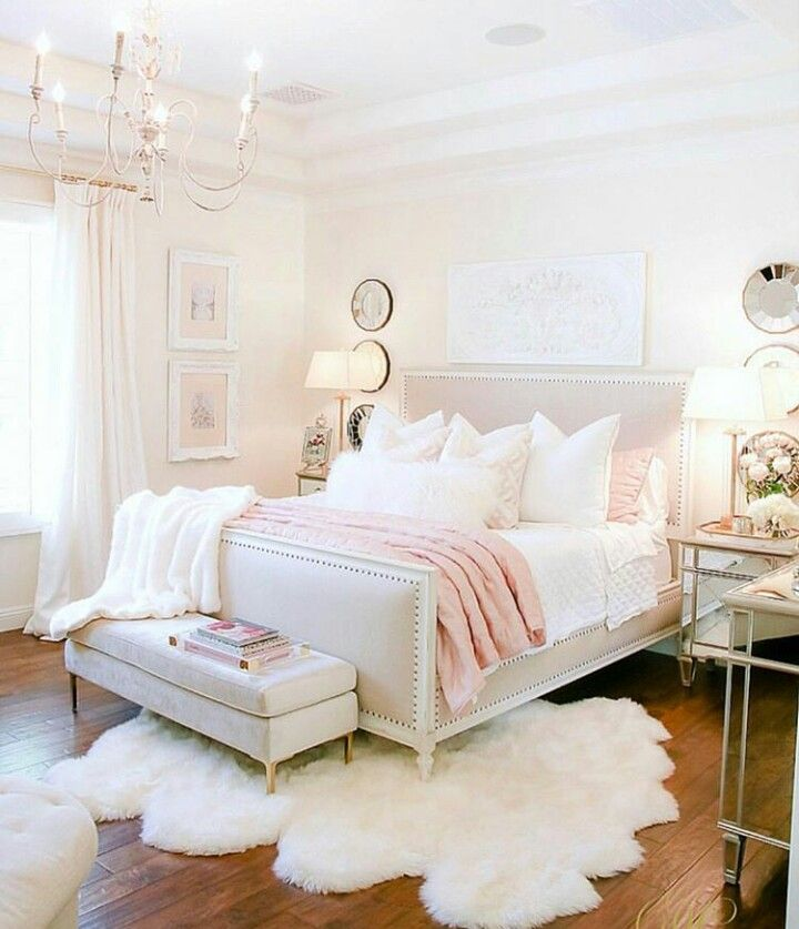 Design An Elegant Bedroom In 5 Easy Steps: Beautiful Pink And White Elegance