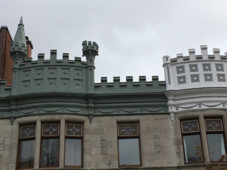 Castle ramparts on Dorchester
