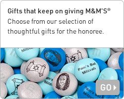 Personalized Bar and Bat Mitzvah Ideas and Party Favors | MyMMs.com
