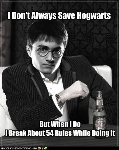 Harry Potter is cool like that