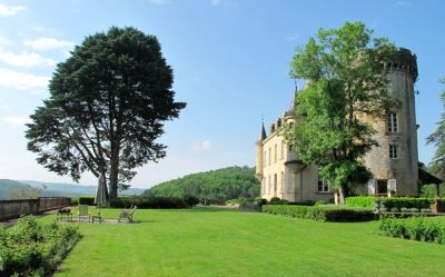 Magnificent Chateau with panoramic view, - SOUTH/WEST: Aquitaine, Dordogne