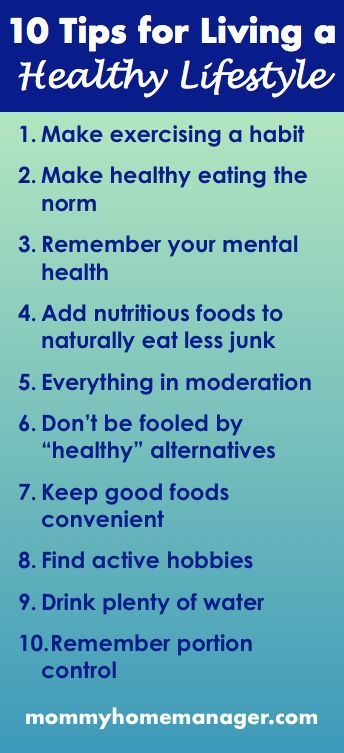 10 Tips for Living a Healthy Lifestyle This post was shared in the All for Mamas Link Party Week 5 at blendedlifehappywife.com