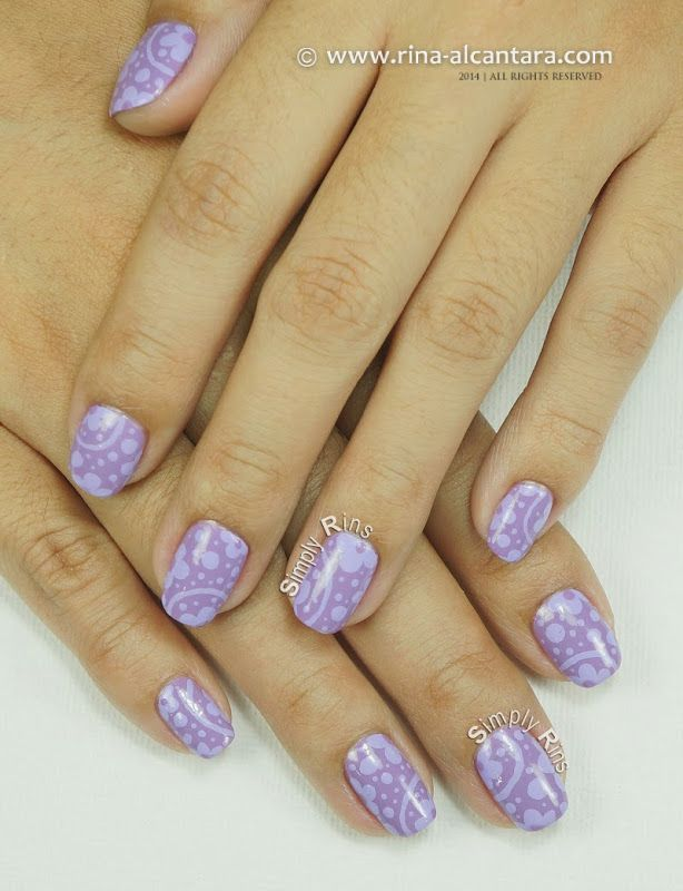 Can't Get Enough Of Lavender Nail Art Design By Simply