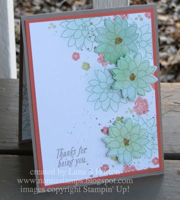 Stampin' with Nanna: My Latest Projects And A Sneak Peek at 2017