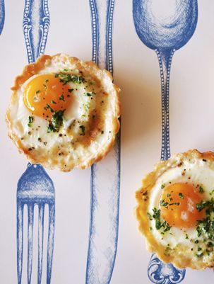 Baked Egg Tartlets