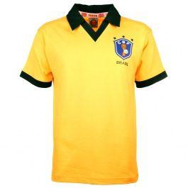 Brazil 1986 World Cup Retro Football Shirt Brazil 1986 World Cup Retro Football Shirt.THIS BADGE IS A REGISTERED TRADEMARK OF TOFFS. http://www.MightGet.com/may-2017-1/brazil-1986-world-cup-retro-football-shirt.asp