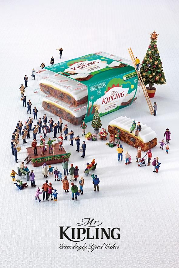 Mr Kipling: Salvation Army | Repinned by www.BlickeDeeler.de