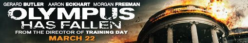 E-mail signature banner for OLYMPUS HAS FALLEN