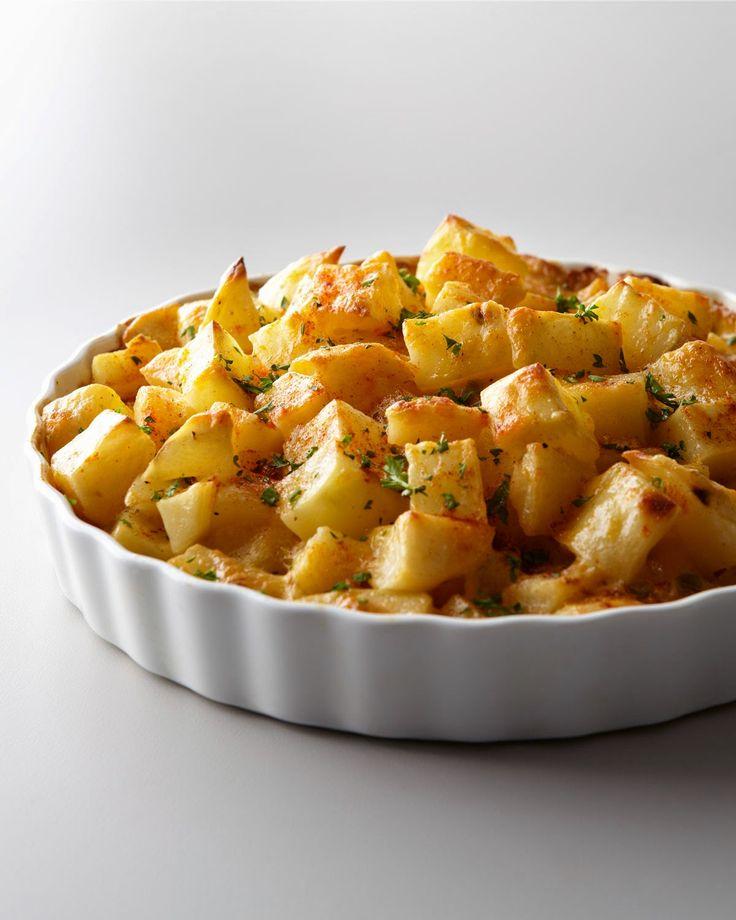 وصفات: مكعبات البطاطس بالجبن