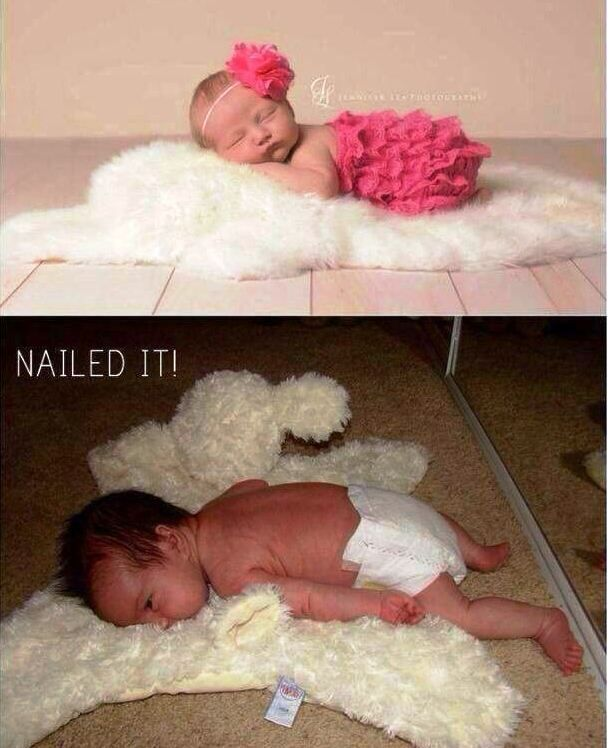 25 Hilarious Baby Expectations Vs Reality Pictures