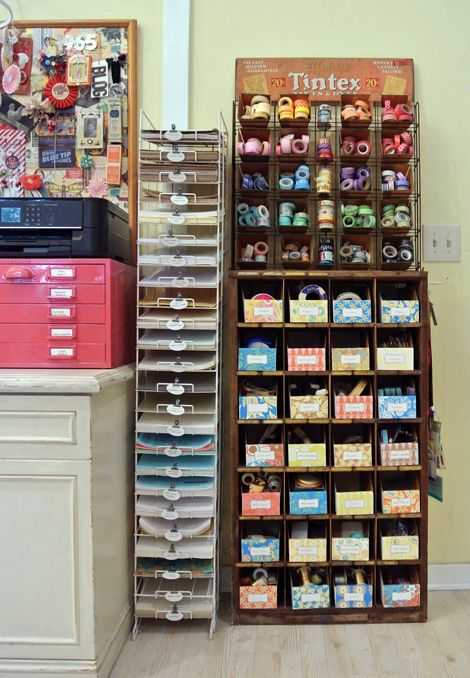 1731 Best Images About Craft Studio Storage Ideas On Pinterest Crafting Anna Griffin And Craft Supplies