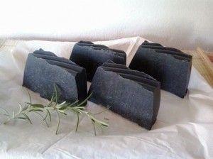 Fekete szappan rozmaringgal
