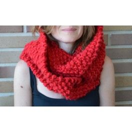 Moss Double Scarg #TheWoolCollection #Scarf #kit #knitting #tejer