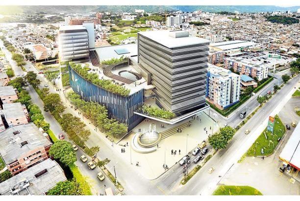 Escaleras en centros comerciales abiertos buscar con - Espacios comerciales arquitectura ...