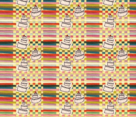 120710_cake-paper-fabric-2-ed fabric by d'lee-d'laa on Spoonflower - custom fabric: 120710 Cake Paper Fabric 2 Ed, Fabric Wallpaper, D Lee D Laa, Spoonflower, Fabrics