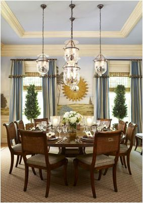 Modern French Country Dining Roomfrench Room