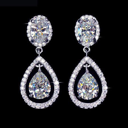 boucle-d-oreilles-plaque-or-blanc-forme-goutte-halo-elegance-zirconium-crystal-mariage-soiree-diamant-boucleo21