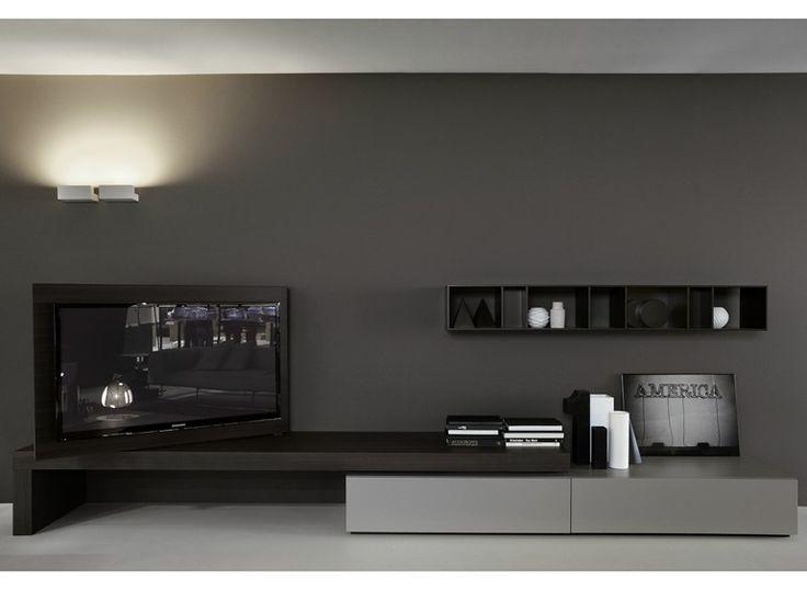 Low TV cabinet MODERN FLAG Modern Collection by Porro | design Piero Lissoni