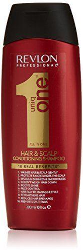 Revlon Uniq One Shampooing – 300 ml: Tweet Laver, hydrater, et démêler tous les types de cheveux. Le shampoing Uniq One apporte 10…