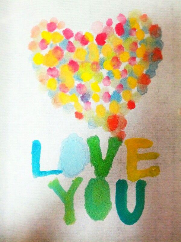 너를사랑해 @ Calligraphy by  Aram