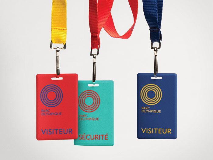 Parc olympique |Branding |Objets promotionnels / Promotional Items | lg2boutique (coloured straps)