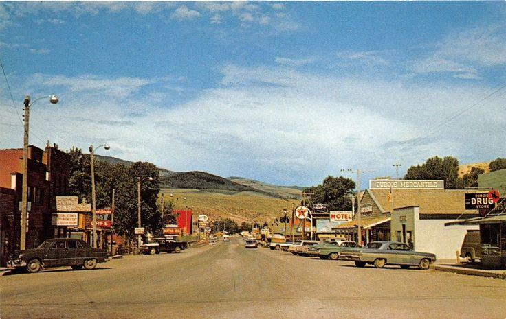 Dubois,Wyoming, 1960s (With images) Wyoming, Dubois