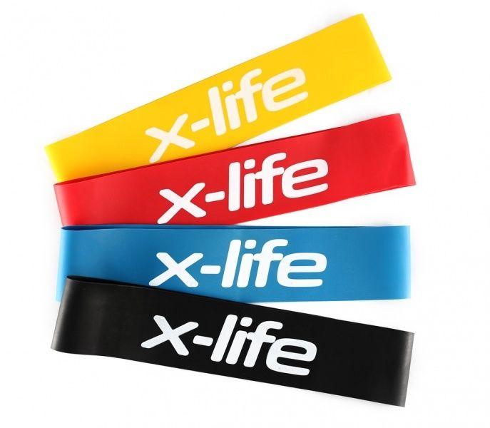 X-life Minibands v2 er effektive treningsstrikker i naturgummi som kan brukes hvor som helst!