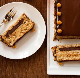 Hazelnut-Almond Dacquoise. For the more advanced chef. Gluten Free Recipe.