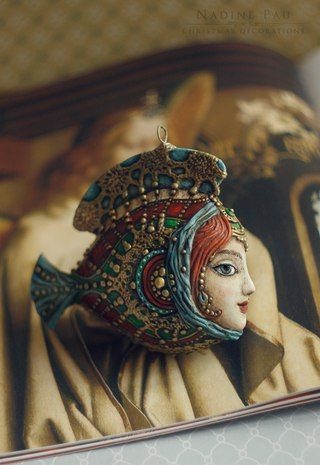 Nadine Pau - masks, dolls and ornaments.