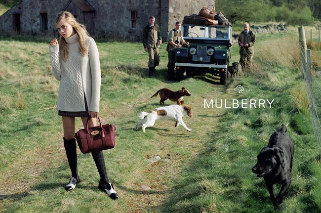 Mulberry (マルベリー) 2014年秋向けキャンペーンはスコットランドのハイランド地方で撮影。フォトグラファーは Tim Walker (ティム・ウォーカー)  –  THE FASHION POST [ザ・ファッションポスト]