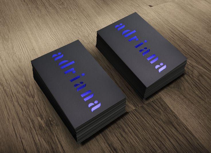 biglietti da visita hotstamping exclusive business cards