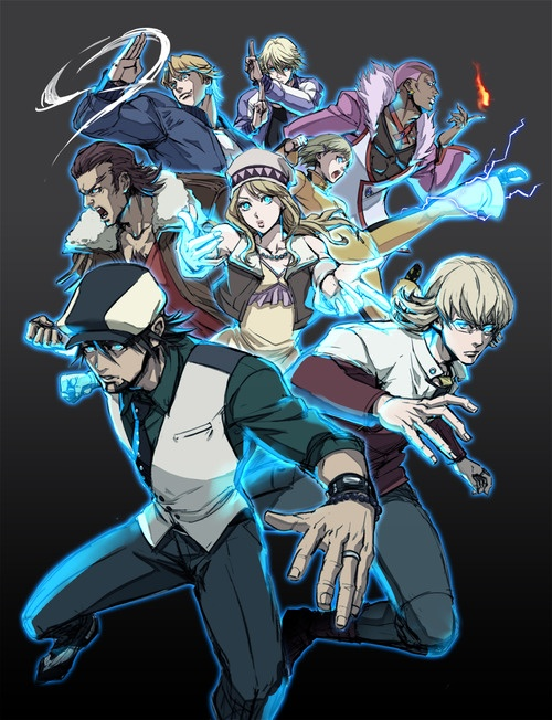 THE HEROES!!!!!!!!!!!!!!!!!! - Tiger and Bunny <3