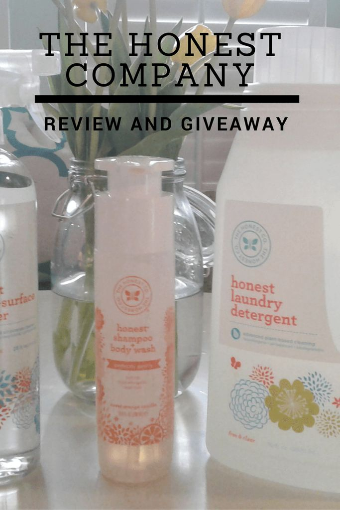 The Honest Company Review and Giveaway :http://www.mommaandthepea.com/the-honest-company-review-and-giveaway/
