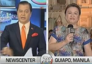 Netizens slammed former Vice-President Noli De Castro for being 'rude' to fellow journalist Winnie Cordero during her report on TV Patrol last night. Cordero was in Quiapo to report the preparation for the feast of the Black Nazarene. De Castro said that Manila Mayor Joseph Estrada should act on the complaints of devotees against ambulant …