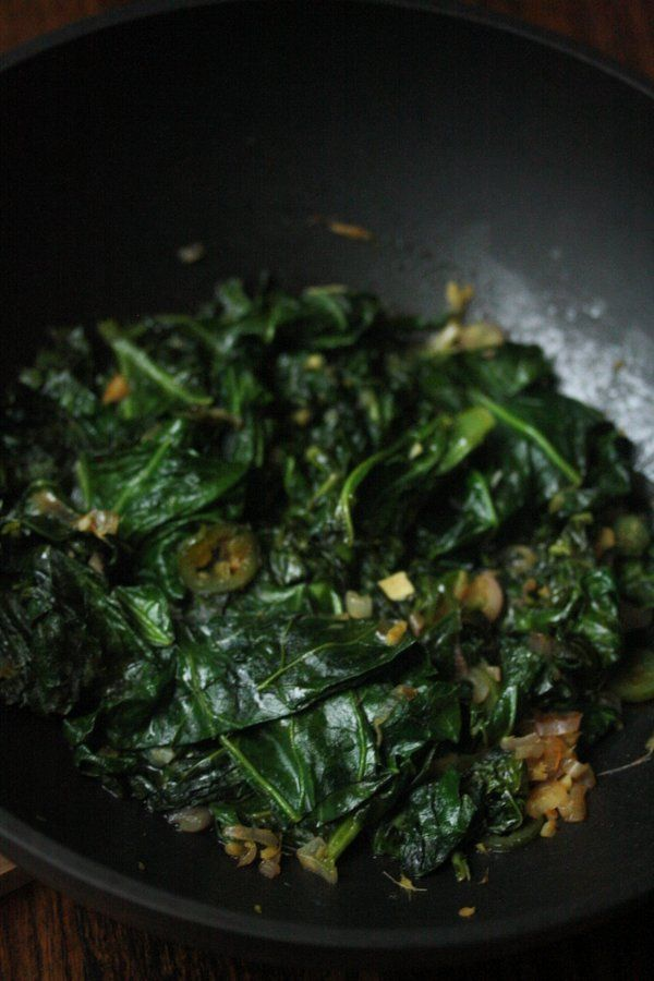 Collard Greens Recipe - Vegetarian, Quick & Easy | Feed Me Phoebe