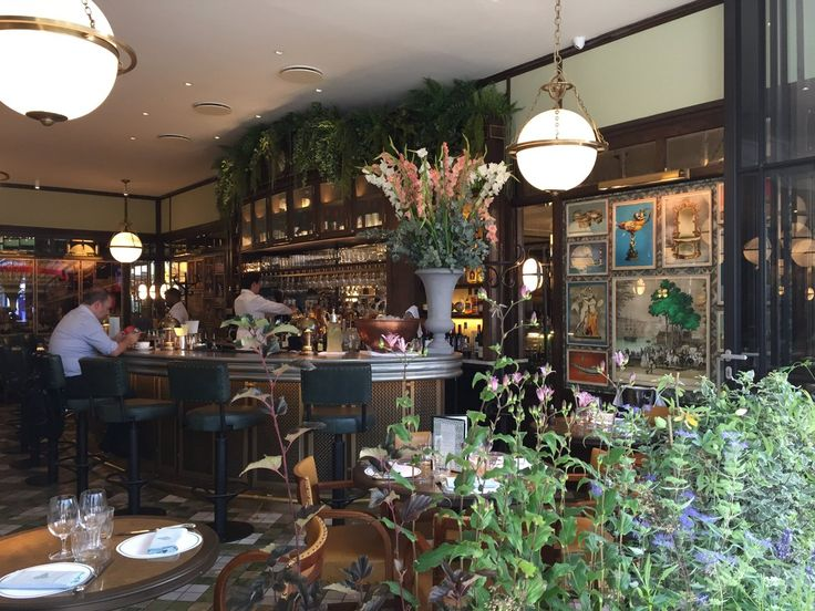 The Ivy Brasserie for informal lunches and post-work bevvies