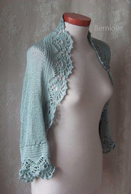lacey shrug:  lovely