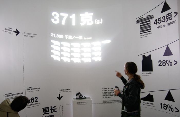 2 × 4: Project: Nike 100 Interactive Installations
