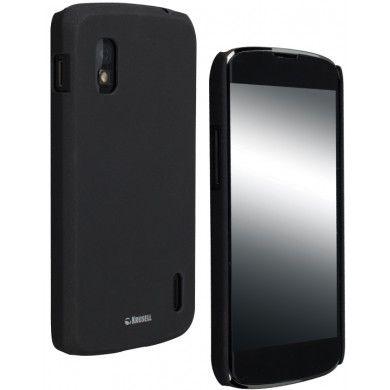 Forro Nexus 4 Krusell ColorCover - Negro