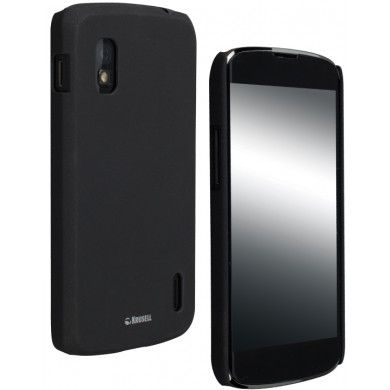 Forro Nexus 4 Krusell ColorCover - Negro