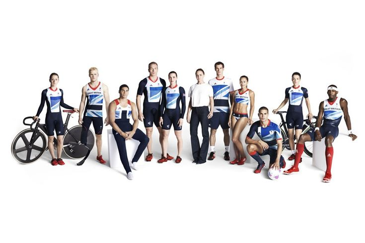 Olympics Summer 2012 Preview: Get Your Game On-Stella McCartney designs Great Britain's uniforms for adidas.