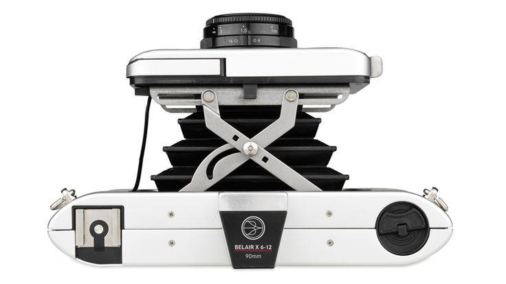 Lomography Belair X 6-12 - Αναλογική με πτυσσόμενη φυσούνα και εναλλάξιμους φακούς