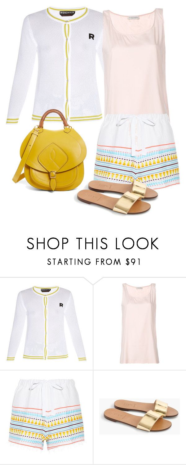 """""""Sin título #1213"""" by jackynajera1 on Polyvore featuring moda, Rochas, Le Tricot Perugia, Lemlem, J.Crew y Maison Margiela"""