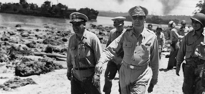 a great military leader douglas macarthur There was a lifelong aura of the beau sabreur about douglas macarthur general macarthur was a great military leader yet it is probably fair to rank macarthur—not as one of the great captains of all time—but surely as one of the outstanding generals of world war ii.